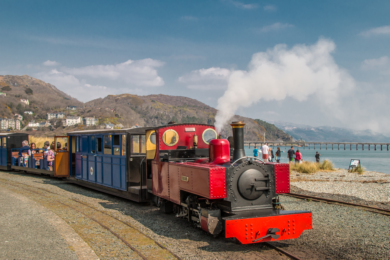 Fairbourne Railway. Photo: Barbara Fuller