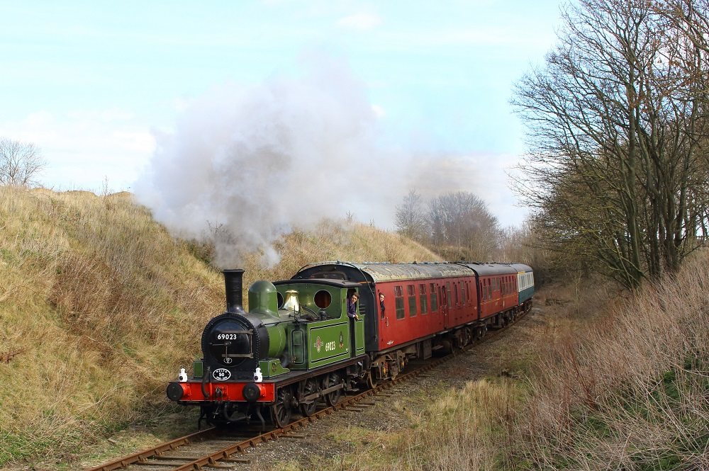 Steam Train on the Wensleydale Railway