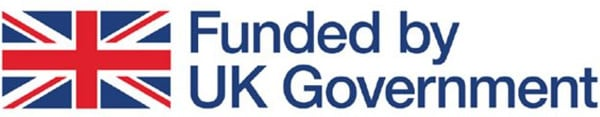 Funded by UK Government logo