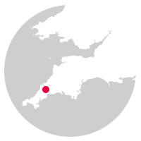 Overview map showing location of the Atlantic Coast Line