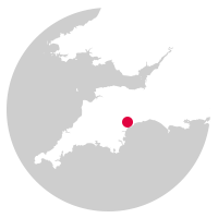 Overview map showing location of the Avocet Line
