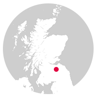 Overview map showing Borders Railway