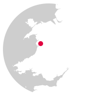 Overview map showing location of the Cambrian Coast Lines