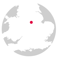 Overview map showing location of the Derwent Valley Line