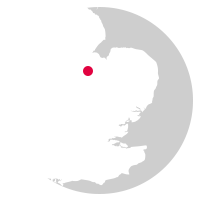 Overview map showing location of the Hereward Line