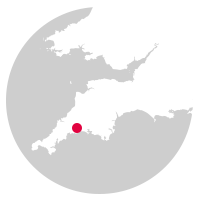 Overview map showing location of the Looe Valley Line