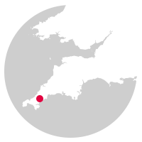 Overview map showing location of the Maritime Line