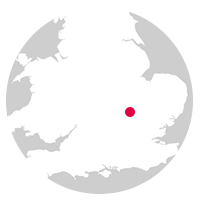 Overview map showing location of the Marston Vale Line