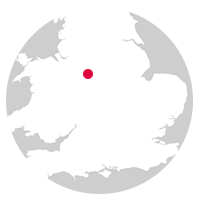 Overview map showing location of the North Staffordshire Line