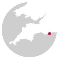 Overview map showing location of the Purbeck Line