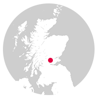 Overview map showing location of the Strathallan Line