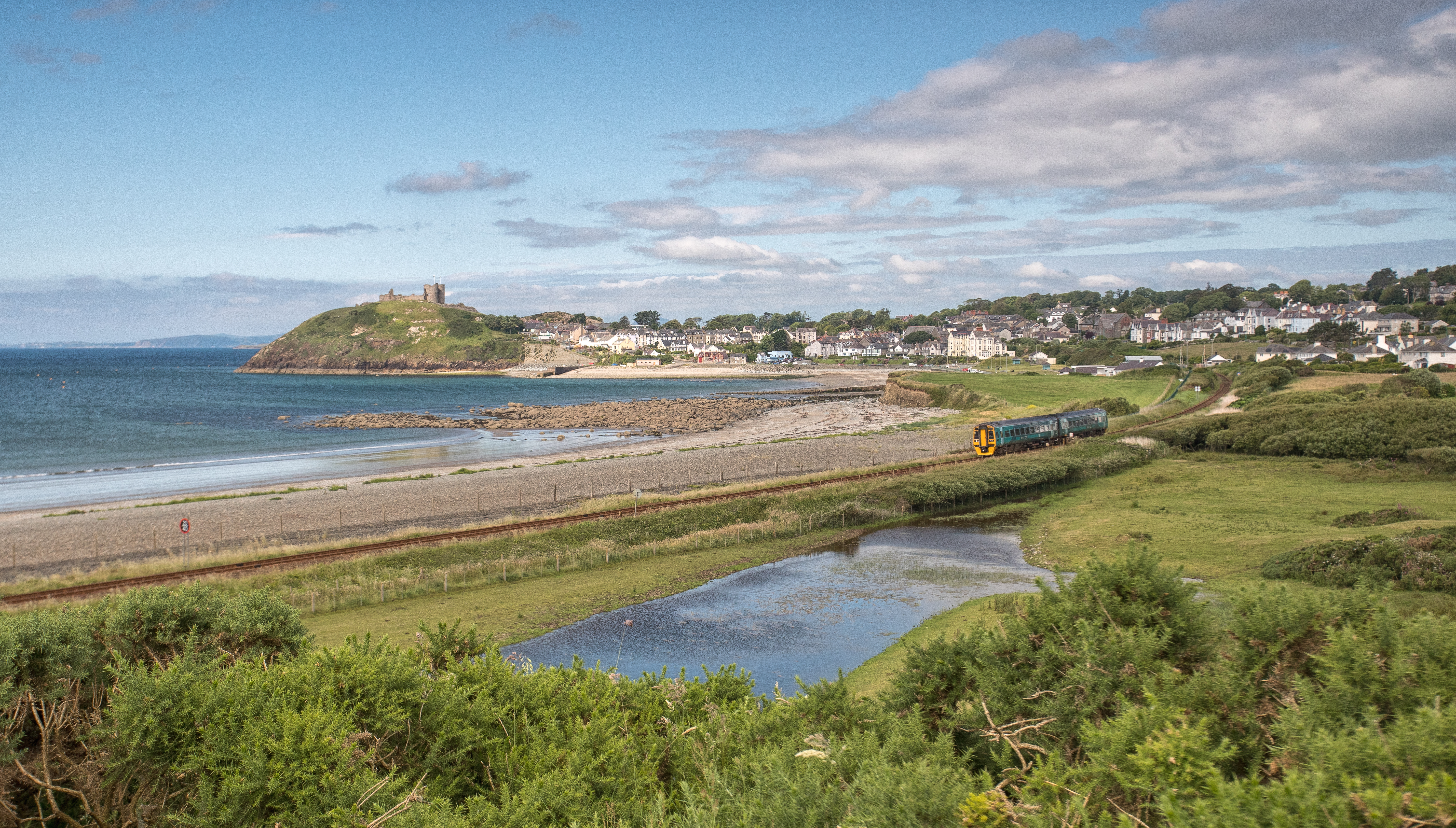 Cambrian Railway Partnership. Wales UK
