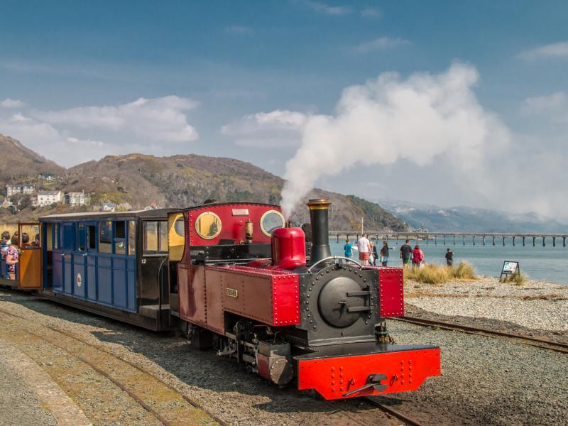 Fairbourne Railway. Photo: Barbara Fuller