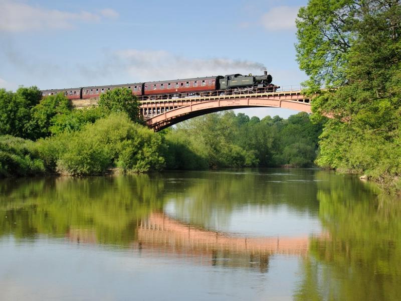 Victoria Bridge along the Severn Valley Railway. Photo: Lewis Maddox
