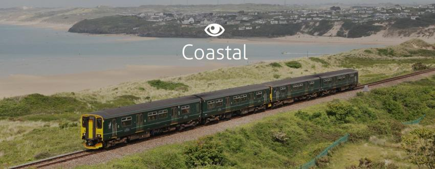 Discover coastal railways on Scenic Rail Britain website