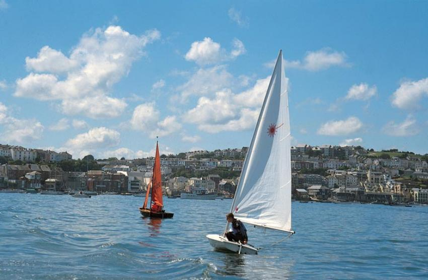 Sailing at Falmouth - image by Visit Cornwall