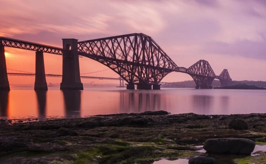 Forth Bridge - image under license from Shutterstock