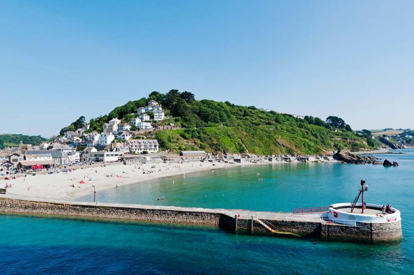 Beach at Looe, Cornwall