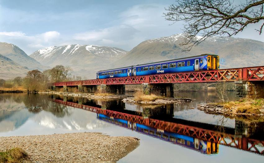 West Highland Line - photo by Denis Hardley