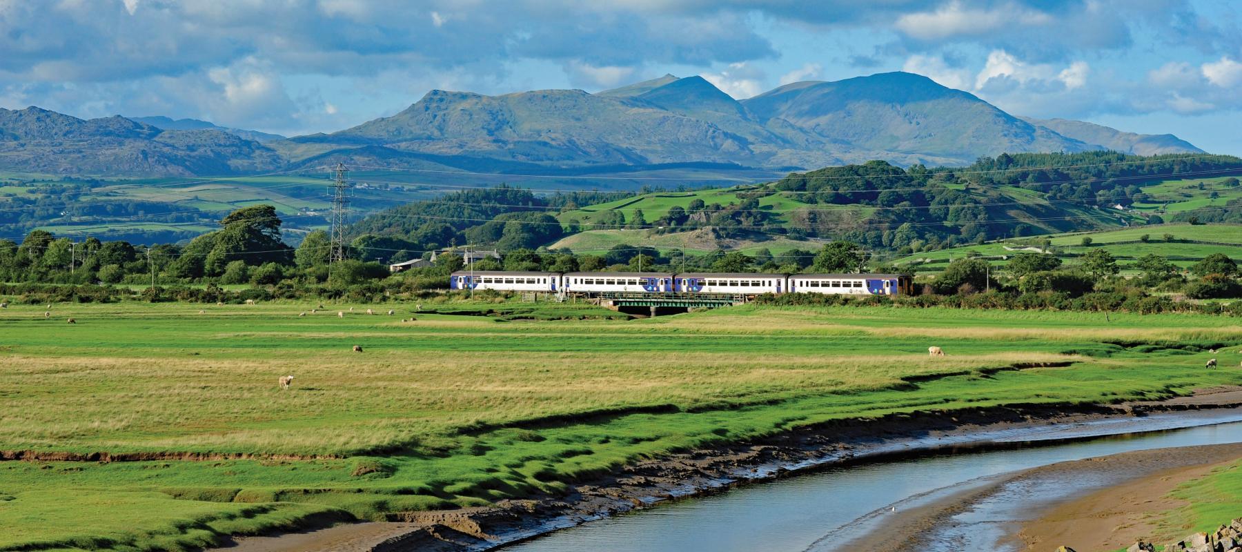 Cumbrian Coast Line. Photo: Community Rail Cumbria