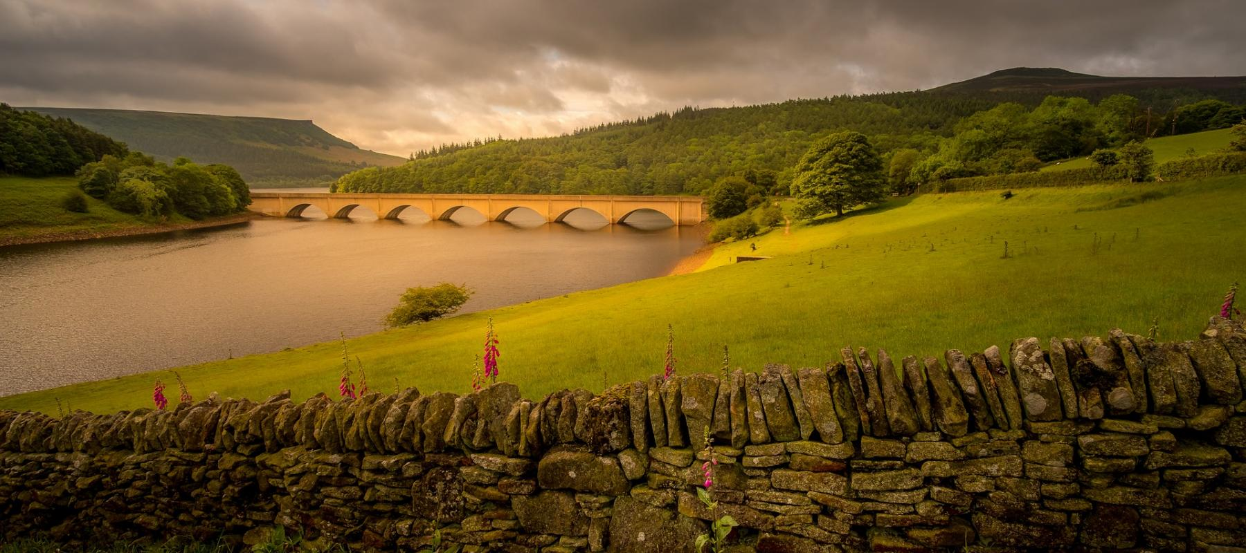 Explore Ladybower Dam as part of a day out by rail.