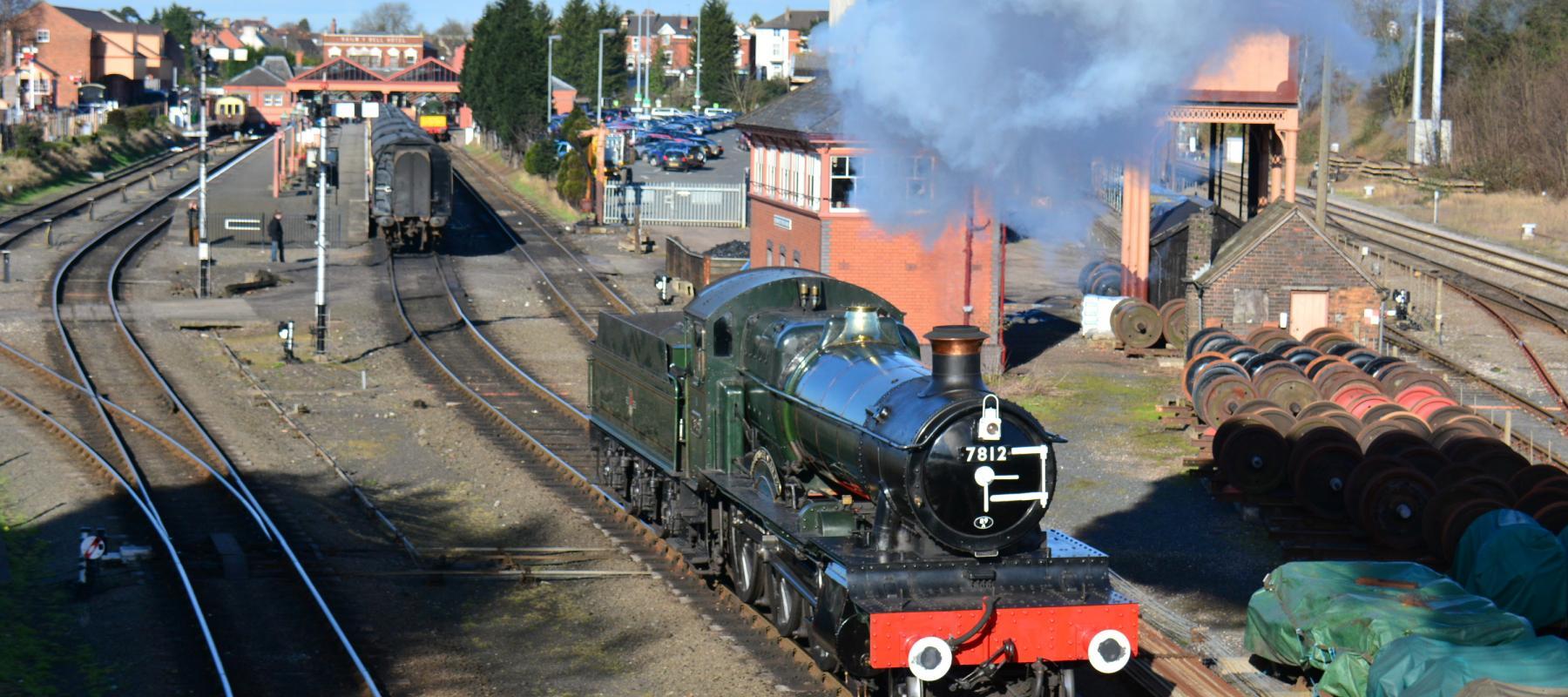 Kidderminster Station & Severn Valley Railway