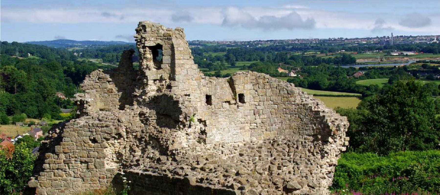 Exploring Caergwrle Castle on the Borderlands Line