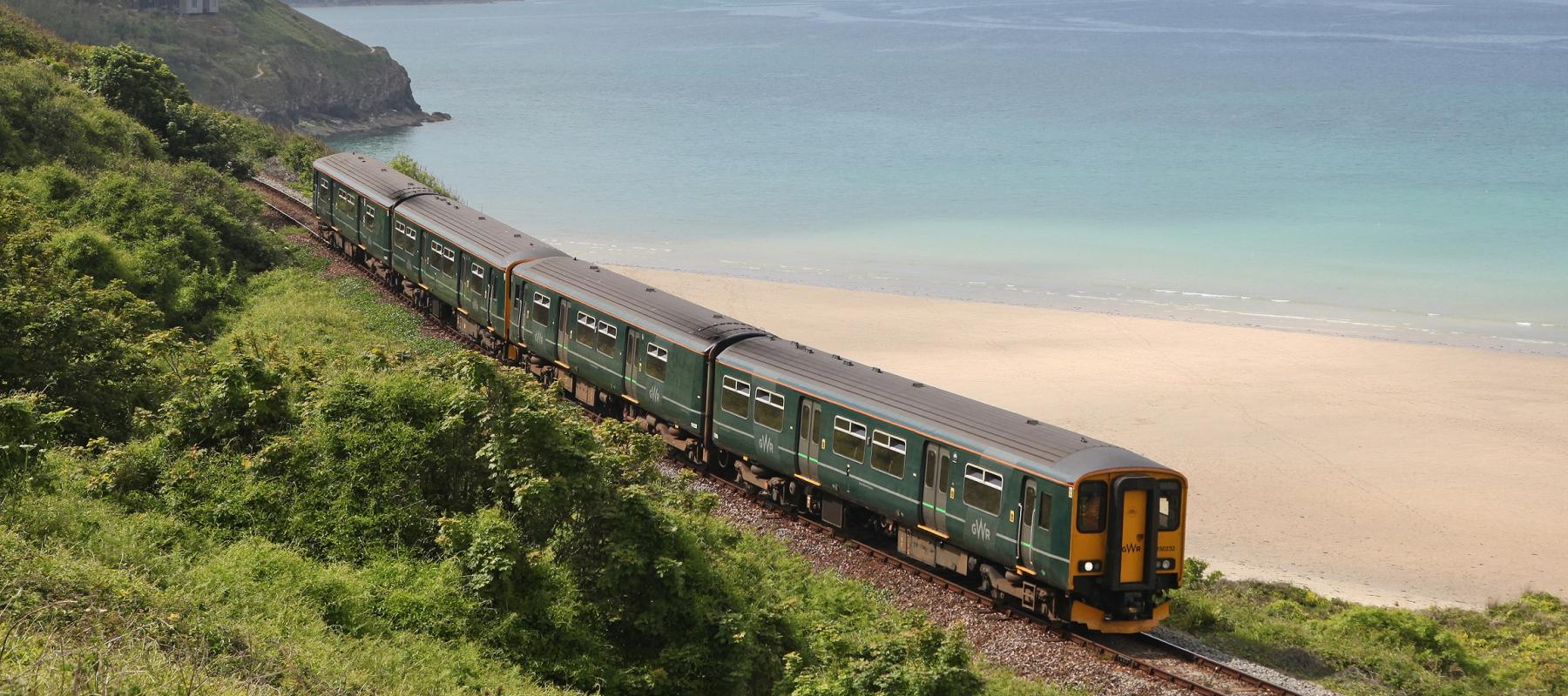 Train on the St Ives Bay Line