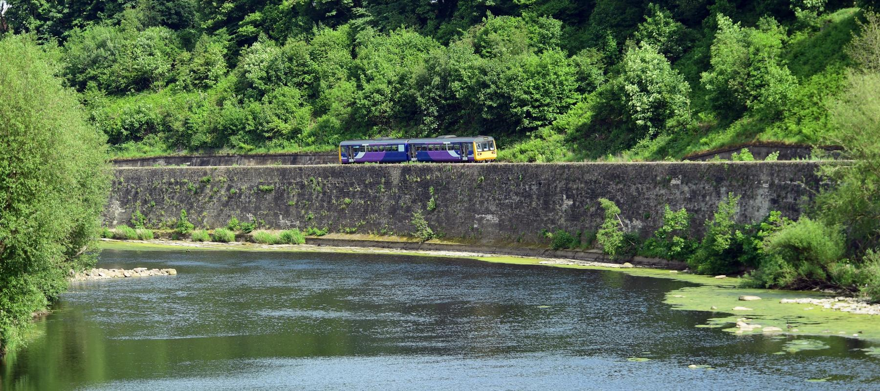 Explore the historic Tyne Valley scenic rail line in Britain