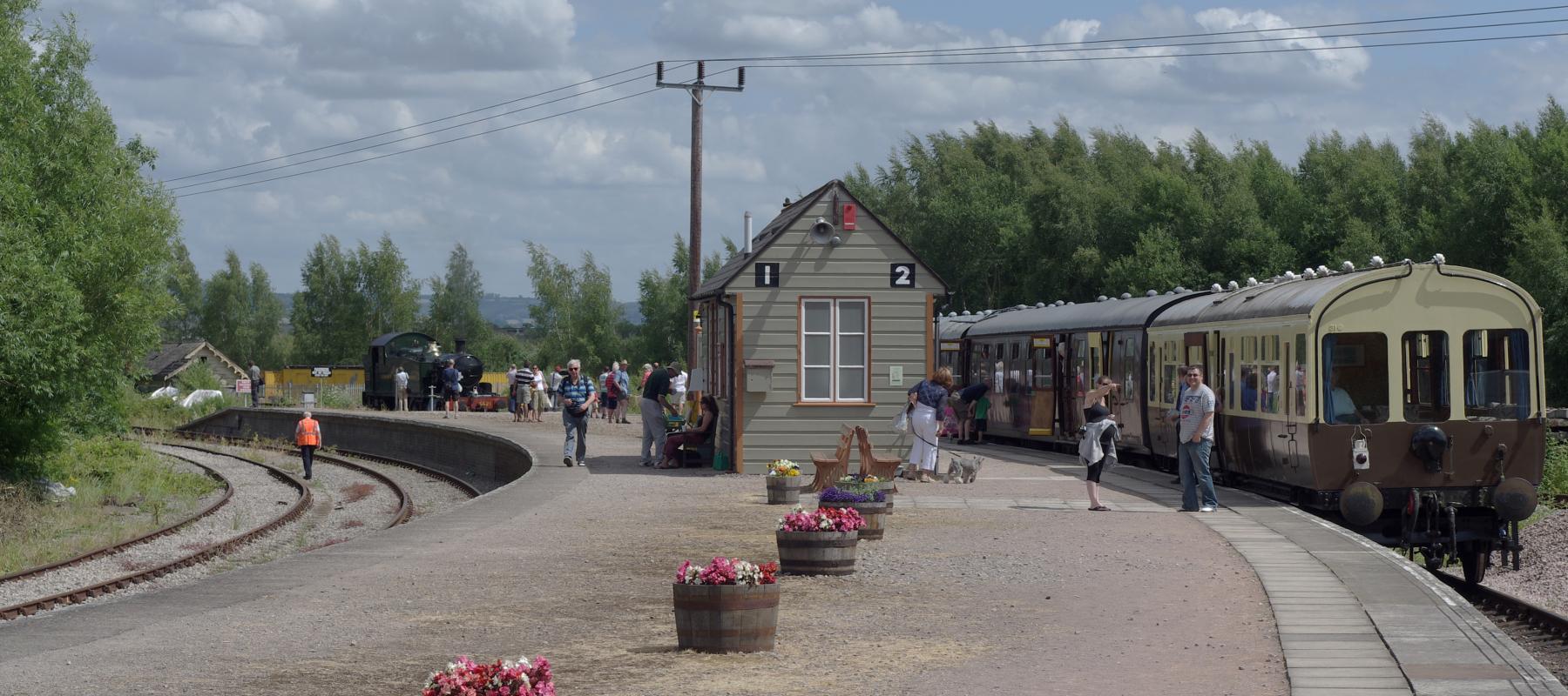 Lydney Junction Railway Station