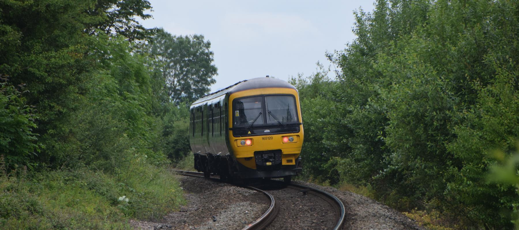 Travelling along the TransWilts Line