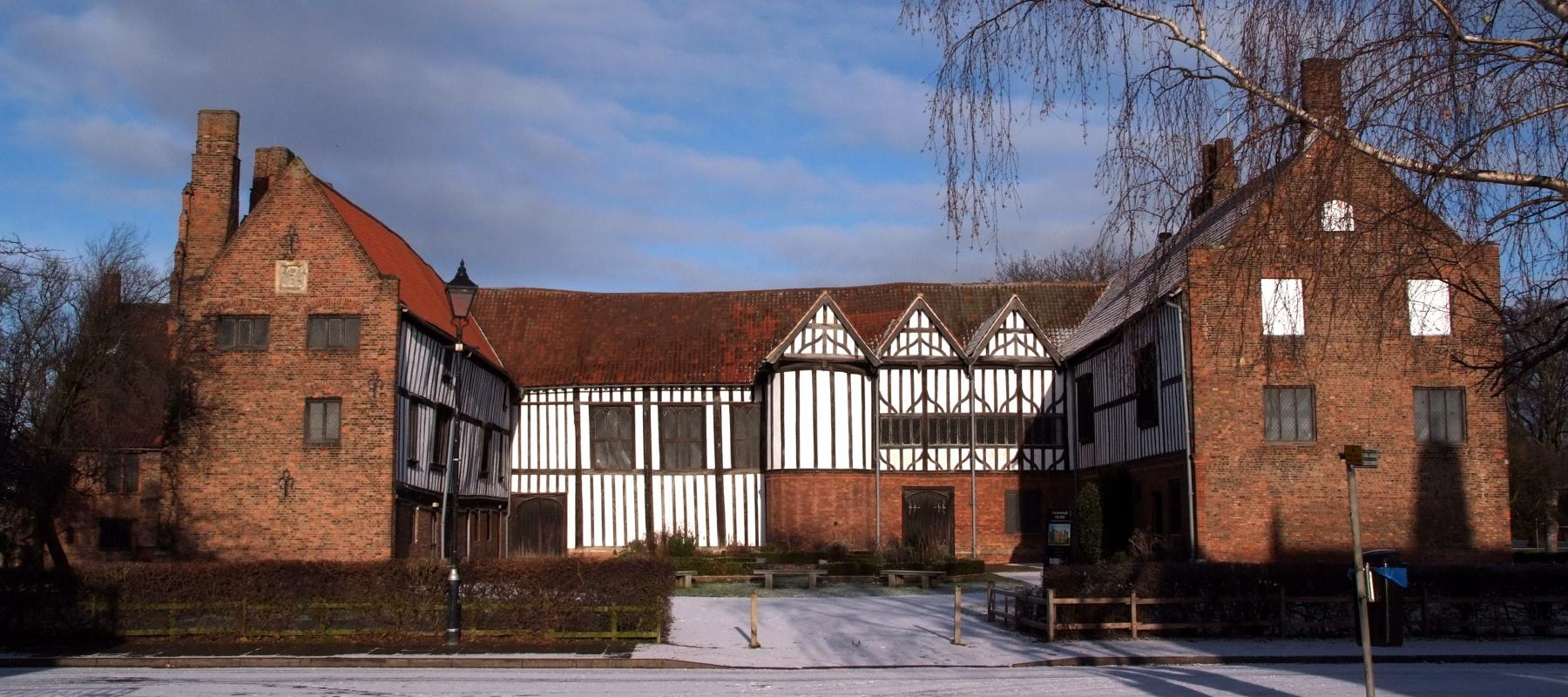 15th century Gainsborough Old Hall can be reached by the Pilgrim Line, East Midlands Trains.