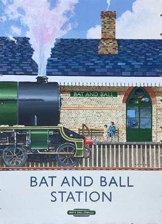 Bat & Ball Station poster