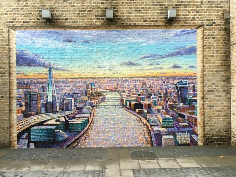 Jimmy C's window on London, London Blackfriars