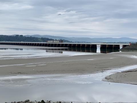 Bridge over Kent Estuary near Arnside