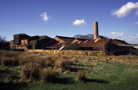 Bursledon Brickworks on a sunny day