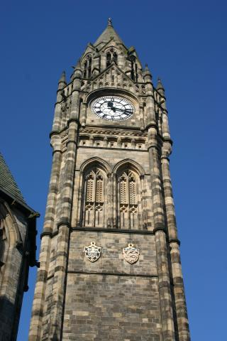 Exploring Rochdale as part of a day out.