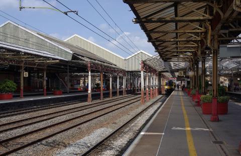 Crewe Railway Station