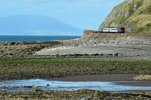 Explore the Cumbrian coast by rail