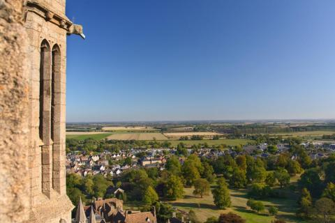 Ely from above