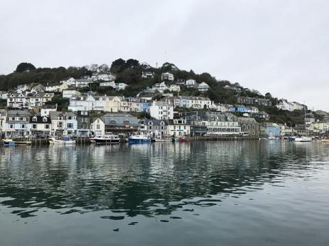 The picturesque town of Looe