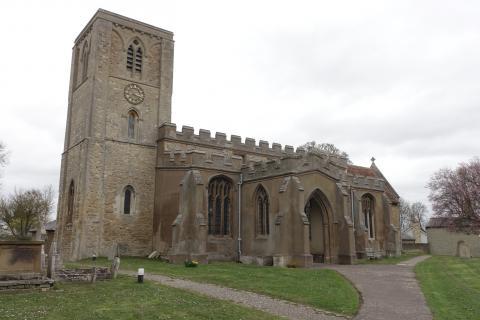 Grade I listed Meldreth Church