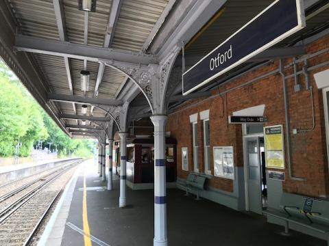 Otford Station, along the Darent Valley line