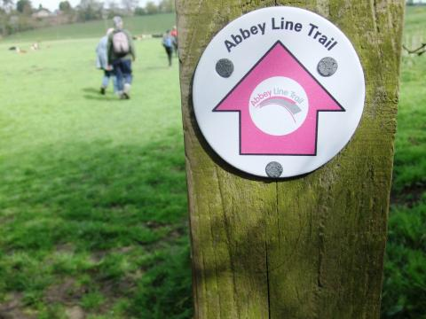 Abbey Line Trail. Photo: Abbey Line Community Rail Partnership