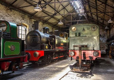 The Engine Shed at Tanfield Railway, Newcastle
