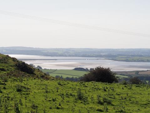 View of Kent Estuary