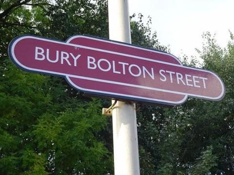 Bury Bolton Street Railway Station