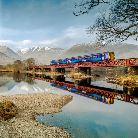 West Highland Line featured on Scenic Rail Britain