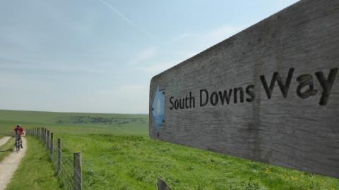 Exploring the South Downs Way by bike