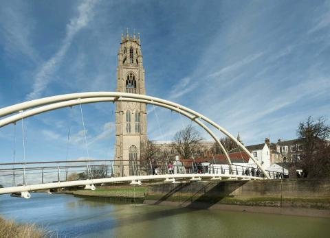 Have a day out at the historic Marketplace at Boston, Lincolnshire